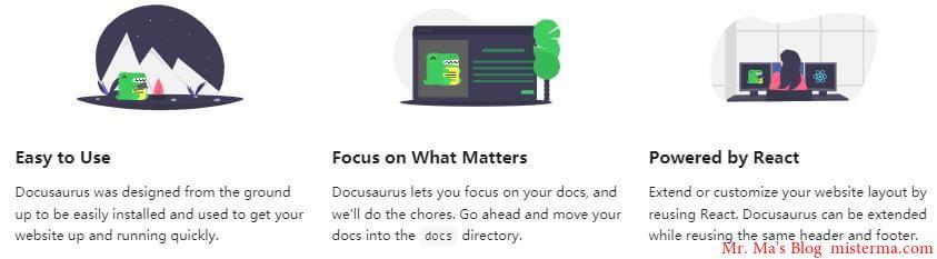 Docusaurus首页描述
