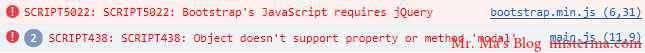 不配置shim浏览器报错的截图